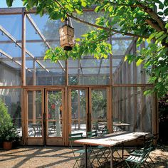 screened porch at la chassagnette Porch Gazebo, Screened In Porch, Provence, Interior Architecture, Interior And Exterior, Restaurants, Decoration, Outdoor Spaces, Paths
