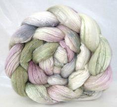spinning fiber wool roving merino silk by WiddershinWoolworks, $31.00