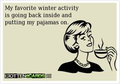 "Winter..haha. I see all of your ""despise winter"" post and thought of you when I seen this. Lol @Style Space & Stuff Blog McDaniel"