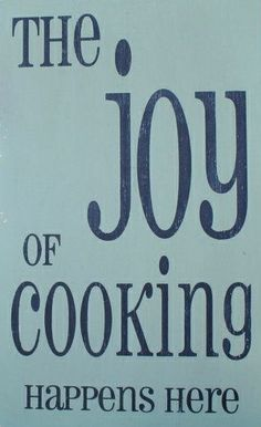 the Joy of cooking happens here, with Hanna's Gourmet products!
