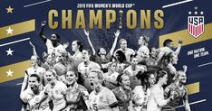 By a score of USA beats the Netherlands in the 2019 FIFA Women's World Cup to become the world champions for the second straight cup. Girls Soccer Team, Soccer Players, Usa Goals, World Cup Champions, Fifa Women's World Cup, Team Usa, One Team, First Nations, Women's Football