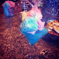 Cotton Candy Martinis www.tablescapesbydesign.com https://www.facebook.com/pages/Tablescapes-By-Design/129811416695