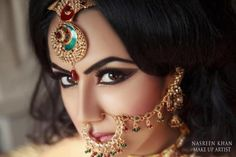 makeup by Nasreen Khan