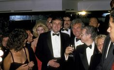 Steve Rubell Ivana Trump and Donald Trump during Donald Trump Celebrates His Book 'The Art of The Deal' at Trump Towers Atrium in New York City New...