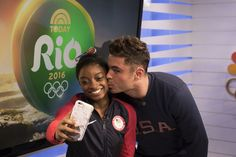 NBC Olympics ‏@NBCOlympics  Aug 16 A Gold Medal and meeting @ZacEfron?! #BestDayEver  Simone Biles