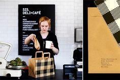 Perfectly Branded Modern Restaurant Design: Sis Deli + Cafe - Euro Style Home Blog - Modern Lighting - Design