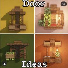 Photo Minecraft, Craft Minecraft, Easy Minecraft Houses, Minecraft House Tutorials, Minecraft Room, Minecraft Plans, Minecraft House Designs, Minecraft Decorations, Amazing Minecraft