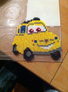 Cars Luigi hama beads by sev88420
