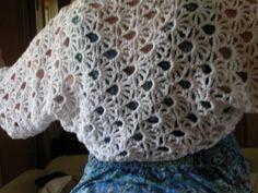 Maui Shrug Free Crochet Lace Pattern