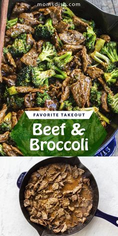 This easy homemade beef and broccoli version of a classic takeout recipe is perfect for any day. This recipe is super easy and great as any weekday dinner. This recipe will become your favorite, it's easy to make and it is made in one-pan which means minimal cleanup. #beefbroccoli #homemadetakeout #dinnerrecipe #easydinnerrecipe #dinneridea #easydinneridea #beefrecipes #homemadetakeout Broccoli Beef, Broccoli Recipes, Beef Recipes, Easy Dinner Recipes, Easy Meals, Take Out, Good Food, Homemade, Meat Recipes