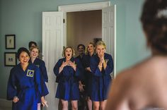 19 Bridal Party 'First Look' Photos That Capture #Friendship At Its Sweetest. #Bridesmaids