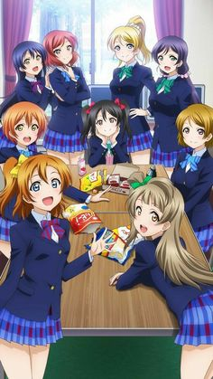 Love Live School Idol Project || The Girls