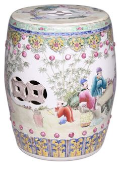 Garden Stools, Side Tables, Chinese Porcelain Art, simply adorable, over 3,000 beautiful limited production interior design inspirations inc, furniture, lighting, mirrors, tabletop accents and gift ideas to enjoy pin and share at InStyle Decor Beverly Hills Hollywood Luxury Home Decor enjoy  happy pinning