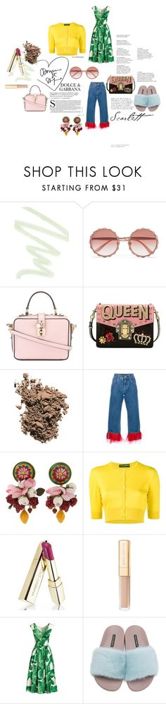 """""""Dolce & Gabbana"""" by emma-leeman ❤ liked on Polyvore featuring Dolce&Gabbana"""