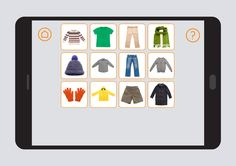 Conjunto de actividades diseñadas para potenciar y favorecer el desarrollo y aprendizaje de vocabulario básico relacionado con la ropa y sus complementos