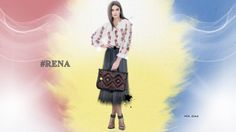 RENA - Colectia Etno - Maiestrie Artizanala pe www.rena.ro - genti si accesorii fabricate in Romania Rena, Romania, Bag Accessories, Tulle, Symbols, Traditional, Skirts, Bags, Collection