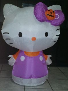 Hello Kitty halloween inflatable
