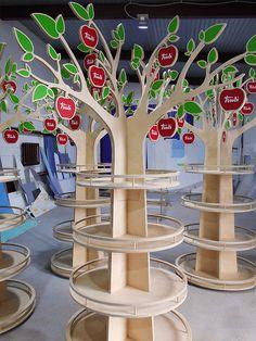 Дерево из фанеры «Труди». Версия 2.0 | POSm EXPERT