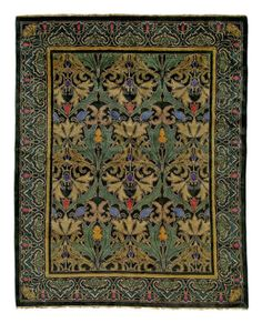 Carpets and Rugs for Arts & Crafts Style Homes - Design for the Arts & Crafts House Craftsman Rugs, Craftsman Style, Mexican Rug, Tiger Rug, Rugs On Carpet, Carpets, Rug Studio, Arts And Crafts House, Mosaic Crafts
