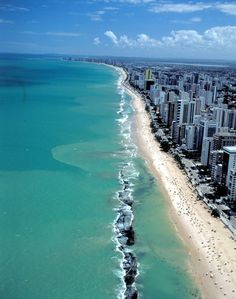 Recife - Pernambuco - Brazil, best of both worlds! Beach and city