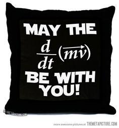 Geeky pillow… double nerd pillow!