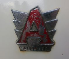 Alemite later 40's and 50's Badge