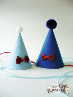 Items similar to Tiny Bow Party Hat For Dogs on Etsy 905839fcde0