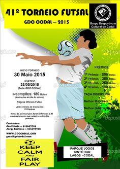 41.º Torneio Futsal GDC Codal > início: 30 Maio 2015 @ Parque Jogos Sintético, Parque dos Lagos, Codal, Vale de Cambra