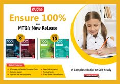 """#MTG's new Smart Study System """"100 Percent Science"""" and """"100 Percent Mathematics"""" will help you accomplish your mission to 100% marks. The book is specially designed keeping in mind the new changed pattern of #CBSEexams. Math Books, Science Books, Hindi Books, General Knowledge Book, Computer Books, Past Papers, Board Exam, Entrance Exam, English Book"""
