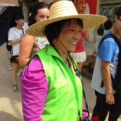 This enthusiastic volunteer was our camera person the first day we visited families in Wuxuan.