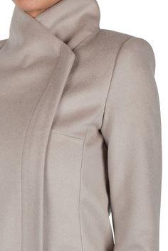 Kookai Houston Beige Camel Coat Sold Out Size 38  d48009308