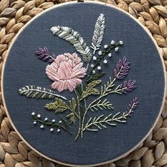 Wonderful Ribbon Embroidery Flowers by Hand Ideas. Enchanting Ribbon Embroidery Flowers by Hand Ideas. Embroidery Designs, Crewel Embroidery Kits, Modern Embroidery, Hand Embroidery Patterns, Ribbon Embroidery, Floral Embroidery, Cross Stitch Embroidery, Embroidered Flowers, Art Patterns