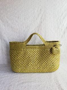 Crochet Handbags, Crochet Bags, Knitted Bags, Straw Bag, Weave, Basket, Crochet Pouch, Crochet Purses, Crochet Purses