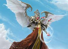 Wispweaver Angel for MtG Kaladesh by namesjames on DeviantArt