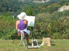 plein air Landscape painting (960×720)
