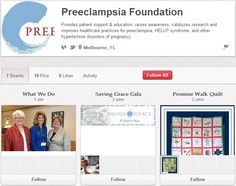 Preeclampsia Foundation Hellp Syndrome, Saved By Grace, Non Profit, Disorders, Health Care, Foundation, Pregnancy, Activities, Education