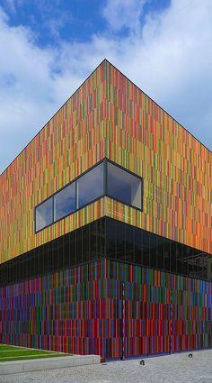 Bij Museum Brandhorst kun je terecht als je van moderne kunst houdt. #Munchen