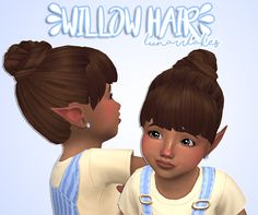 lunarrlakes hey guys, here's another toddler hair for download! Just a simple bun+bangs combo. It comes in EA colors, for toddlers only obviously. thank you in advance if you use it! :-) • toddlers only • BGC • comes in original EA colors download...