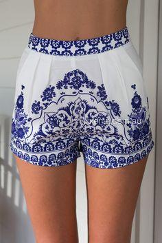 Porcelain Princess Short ▶ ▷▶ Shop It Now ❤ Xenia Boutique xx
