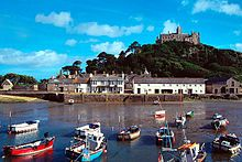 St Michael's Mount - memories of long lazy summer holidays in Cornwall as a child.