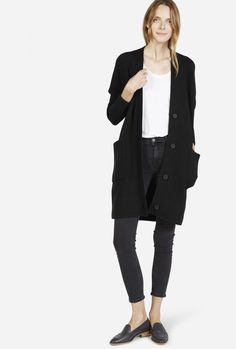 The Chunky Wool Cardigan Coat from Everlane