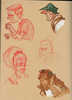 cafe sketches by Jtown67.deviantart.com on @deviantART ★ Find more at http://www.pinterest.com/competing/