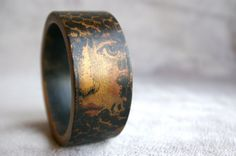 Wood Bangle Wood Bracelet  Gypsy Jewelry  by TheSkinnyThicket, $20.00