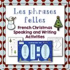 """This product is great for students who have had at least a year of Core French/FSL. It is similar to my Halloween product called """"French Halloween . Preschool Christmas, Christmas Activities, Christmas Ideas, Core French, French Class, Winter Activities, Writing Activities, Learning Centers, Literacy Centers"""