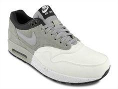 Nike Air Max 1 Premium Medium Grey / Black / Dark Charcoal