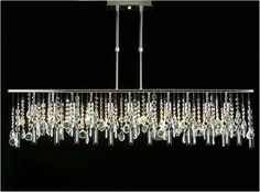 Cool Modern Rectangular Chandelier                                                                                                                                                                                 More