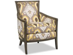 Sam Moore Living Room Kamea Exposed Wood Chair 4512 - Sam Moore - Bedford, VA