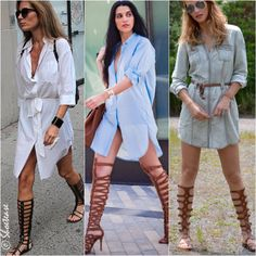How to Wear Gladiator Sandals Shirt Dress More  sc 1 st  Pinterest & 25 Outfit Ideas and Tips of How to Wear Gladiator Sandals ...