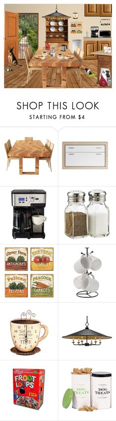 """""""FEELS LIKE SUNDAY MORNING"""" by arjanadesign ❤ liked on Polyvore featuring interior, interiors, interior design, home, home decor, interior decorating, Haier, Hamilton Beach, Knutsford and Stupell"""