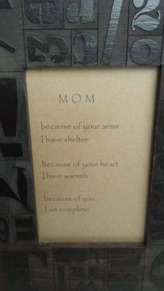 Mother's Gift, Mom Frame